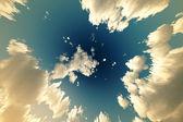 Fundo do céu nublado — Foto Stock