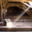 Old attic of a house, hidden secrets — Stock Photo #22088127