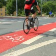 Stock Photo: Cycleway in Brno, Czech Republic