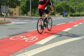 Cycleway in Brno, Czech Republic — Stock Photo