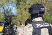 Training of special police units — Stock Photo