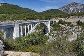 Pont de l'Artuby, verdon gorge, Provenza, francie, — Foto Stock