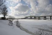 Champlain brücke — Stockfoto