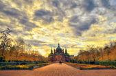 Iglesia de san alejandro nevski — Foto de Stock