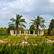 Gardens of Baron Edmond de Rothschild (Park Ramat Hanadiv) — Stock Photo