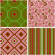 Abstract seamless pattern. Vector illustration. — 图库矢量图片