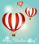 Valentine's Day greeting cards. Vector illustration. — Vector de stock