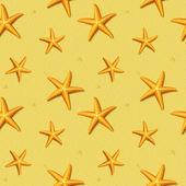 Seamless pattern with starfish. Vector illustration. — 图库矢量图片