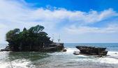 Beautiful scene at Tanah Lot Bali Indonesia — Stock Photo