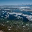 Baikal almost melted — Stock Photo