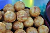 Takoyaki : Meat balls as Japanese style. — Stock Photo