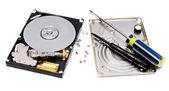 Réparation de disque dur — Photo