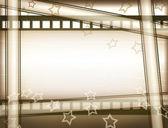 Projekt klatki filmu — Zdjęcie stockowe
