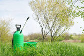 Irrigatore giardino — Foto Stock