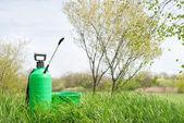 Trädgård sprinkler — Stockfoto