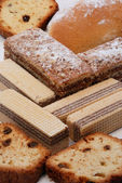 Baked goods in assortment — Stockfoto