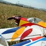 Model aircraft — Stock Photo #21565425