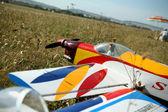 Model aircraft — Stock Photo