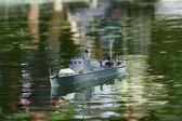 Militära båtar — Stockfoto