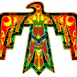 Stock Photo: Sacred Thunderbird - native americsymbol