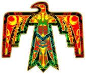 Sacré thunderbird - symbole amérindien — Photo