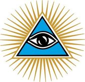 Eye Of Providence - All Seeing Eye Of God — Vetor de Stock