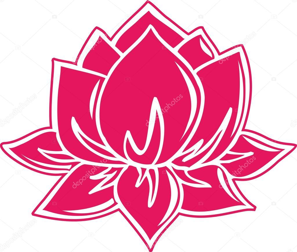 Fleur de lotus symbole de lillumination bouddhisme - Fleur de lotus bouddhisme ...
