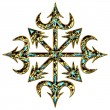 Stock Photo: Chaos Symbol - Chaos Star - Chaos Cross