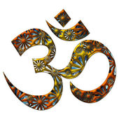 OM (AUM) - I AM — Stock Photo