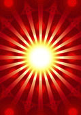 Ray of hope - meditation and enlightenment, trust and confidence — Stock Photo
