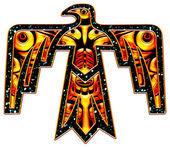 Heilige thunderbird - indiaanse symbool — Stockfoto