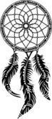 Dream Catcher, Protection, Native American — Stock Vector