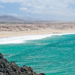 Panorama of Cotillo coast in Fuerteventura, Canary Island, Spain — Stock Photo