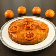 Orange cake - Stock Photo