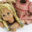 Doll with detached head — Stock Photo