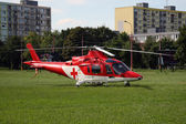 Medical helicopter — Stock Photo