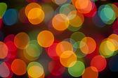 Fond d'écran coloré bokeh lumineuses ponctuée — Photo