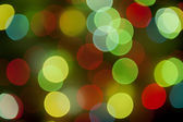 Colorful bright bokeh dotted wallpaper — Stock Photo