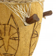 African drum in close up — Stock Photo