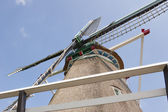 Hay wind mill taken upwards — Stock Photo