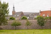 центр исторического города за городской стеной — Стоковое фото