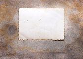Cartão vintage — Fotografia Stock