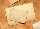 Tarjetas vintage — Foto de Stock