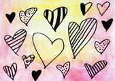 Símbolo do coração — Foto Stock
