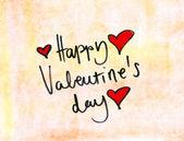 Valentines day note — Stockfoto