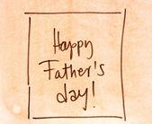 Happy fathers day — ストック写真
