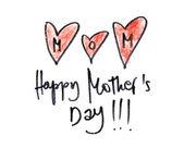 Happy mothers day — ストック写真