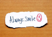 Always smile — Stock Photo