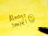 Always smile — ストック写真