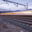 A high speed train - Stock Photo